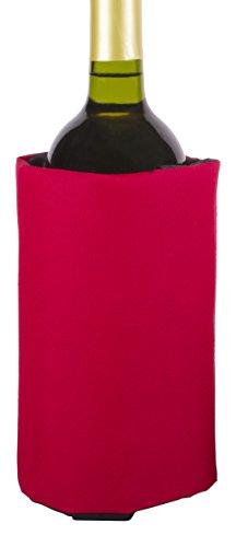 Koala 6181RR01 - Manga enfriadora de vino, color rojo