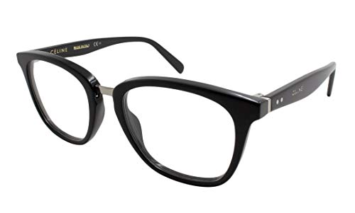 14564835846 Original New Celine CL 41366 M23 Dark Blue Frame Square Eyeglasses 51
