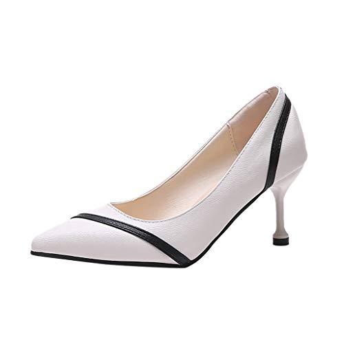 Kitten Heels Frauen mischen Farbe Höhe dünne Ferse Büro & Karriere Point Toe Schuhe (Akira Heels)