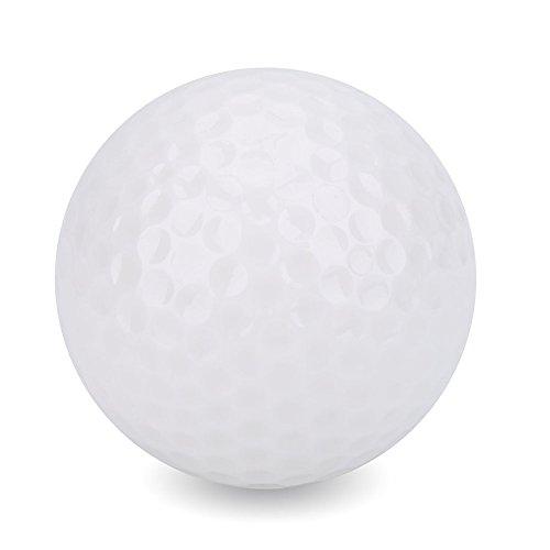 Alomejor 1 Stück Leuchtende Nacht Golfbälle Standard LED Leuchten Blinkende Neuheit Golfbälle Zubehör für Nacht Golfen