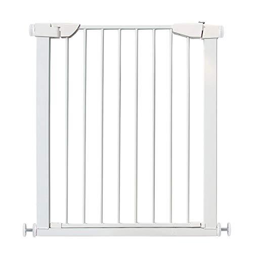 Barrière de sécurité Portes de bébé Extra Larges et Hautes pour Les Portes d'escaliers, Porte d'animal familier à bâti sous Pression avec Chat/Porte de Chien