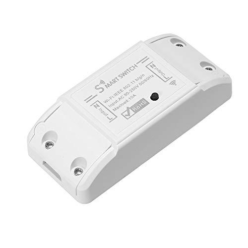 OWSOO Interruptor Control Remoto WiFi Inalámbrico WiFi Smart Switch 10A/2200W para Control...