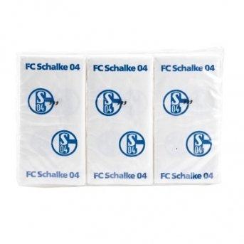 Preisvergleich Produktbild FC Schalke 04 Taschentücher 3er-Pack