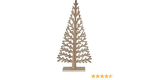 DEPOT Tanne ☼ Holz Baum Tannenbaum geschnitzt gross 39,5 cm
