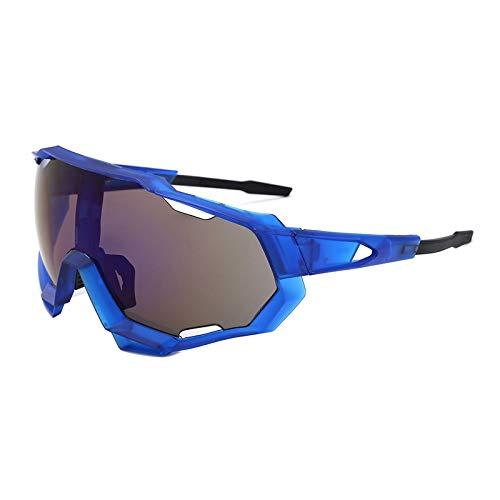 ZKAMUYLC Fahrradbrille Outdoor Sports Cycling Sunglasses Men Women Road Bike MTB Glasses UV400 Bicycle Eyewear,style3