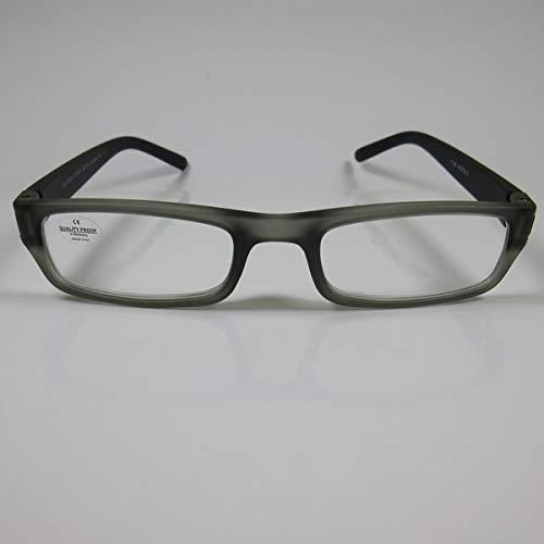 SCHILDGEN Schicke Lesebrille grau-trans. für SIE & IHN Fertigbrille Lesehilfe +1,5