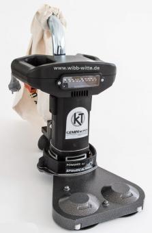 Preisvergleich Produktbild Randschleifer,  Kantenschleifer,  Randschleifmaschine GEMINI 100,  Dual Edge
