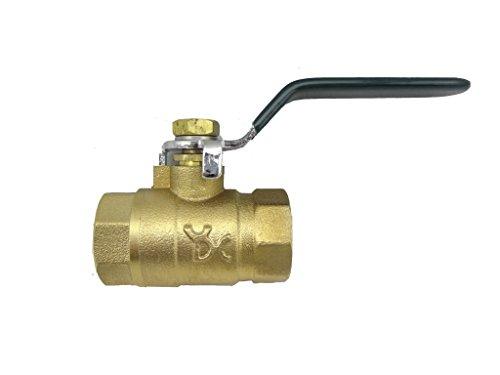 MISOL 10 pcs of Brass ball valve, G3/4