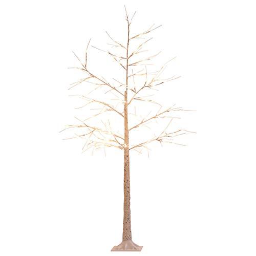 WUYAO 160cm Stehleuchte/Baum Lampe, Birke Lampe Dekoration Raum Stehende Lampe-Moderne kreative Wohnzimmer Schlafzimmer Studie Sofa Tischlampe Stehlampe - Birke Wohnzimmer Sofa