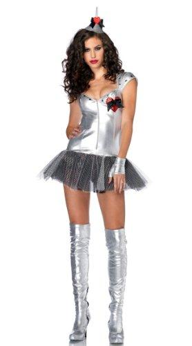 Von Sexy Oz Zauberer (Kostüm Zauberer von Oz SEXY BLECHMANN)