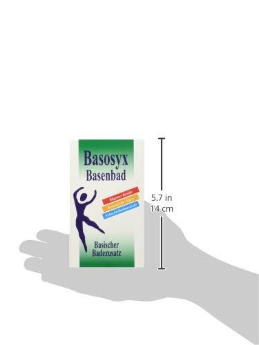 SYXYL Basosyx Basenbad / Pflegendes Basenbad mit Mineralien & natürlichen Zusätzen für einen ausgeglichenen Säure-Basen-Haushalt / 4 Beutel á 60g