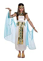 Kids Sizes: 4-6 Years; 6-8 Years; 8-10 Years (Height 134cm) The Cleopatra girls costume Includes a dress, headdress, collar, cape with armbands and cuffs Sandals not included Ideal for any Ancient History, Roman, Greek or Egyptian Queen Of Th...