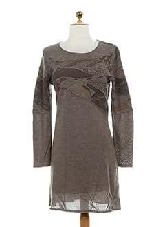ALDO MARTIN'S Robes MARRON Robes pulls FEMME