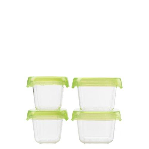 Kunststoff-container Klare Zu Gehen (OXO Good Grips Mini-LockTop-Behälter 4-er Set)