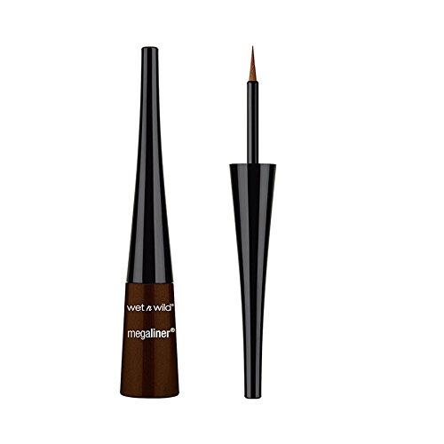 (3 Pack) WET N WILD MegaLiner Liquid Eyeliner Dark Brown