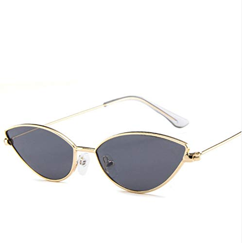 81c5ad26c9c4 Ljtao Cute Sexy Cat Eye Sunglasses Mujeres Verano Retro Marco Pequeño Negro  Red Cat Eye Gafas