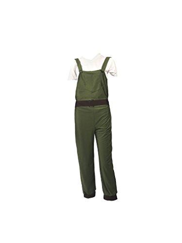 b81d731595526 Emmas Garde-Robe des années 1940 WW2 Terre Fille Costume de déguisement -  Vert Salopette