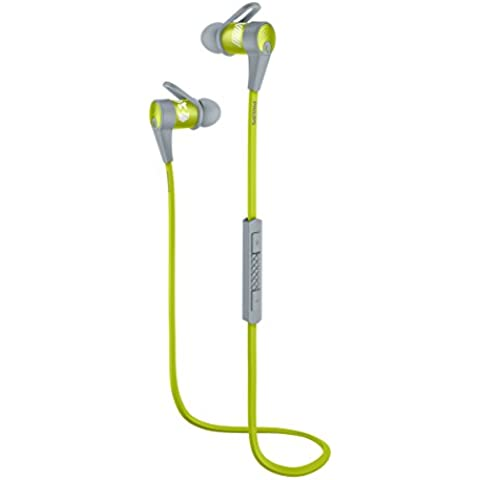 Philips SHQ7300LF AcitonFit - Auriculares deportivos In-Ear (Bluetooth/NFC, graves potentes),