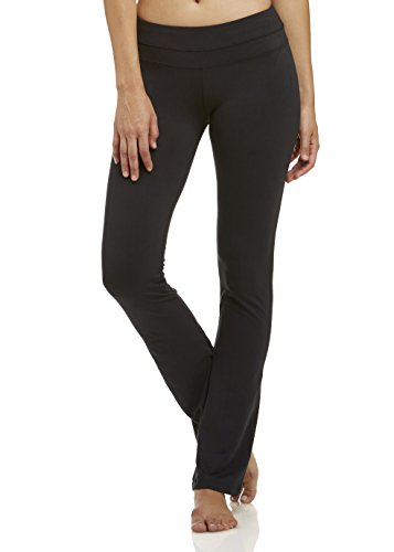 Marika Damen Women's Beth Performance Slim Boot Pant Tummy Control Legging, Black, M - Womens Slim Boot
