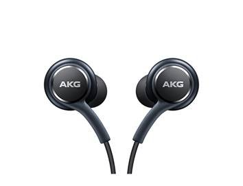 100% Genuine Headphones For Samsung Galaxy S8 and S8 Plus , Genuine Black AKG [EO-IG955] Samsung Earphones Headset For Galaxy S8 & S8