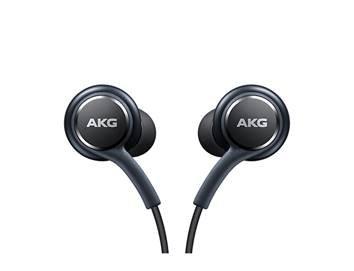 Foto de Excellent Accessories Auriculares con micrófono 100% originales AKG [EO-IG955] para Samsung Galaxy S8 y S8 Plus, color negro
