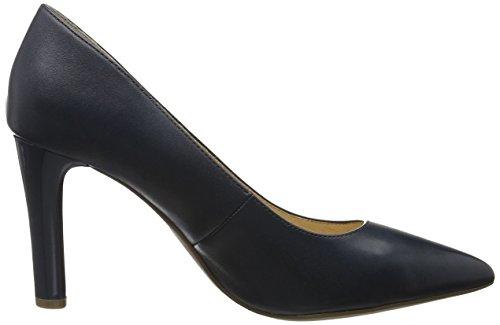 Caprice 22405, Scarpe con Tacco Donna Blu (Navy Nappa)