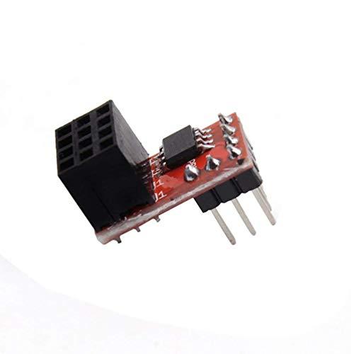 ARCELI Reprap Ramps1.4 RRD-Lüftererweiterung Max. 20-V-Lüftererweiterungsmodul 3D-Druckerzubehör Lüftermodul 2 Kanäle Plug and Play - Rot