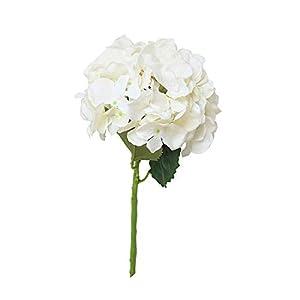 Hortensia Flor Artificial, Wyxhkj Rosa De Flores Artificiales Peonía Floral Boda Ramo Nupcial Decoración Boda del Partido Flores Arreglos Florales para Hogar (A)
