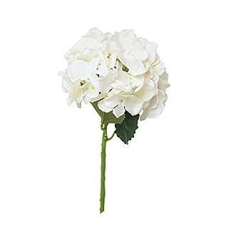 Hortensia Flor Artificial, Wyxhkj Rosa De Flores Artificiales Peonía Floral Boda Ramo Nupcial Decoración Boda del Partido Flores Arreglos Florales para Hogar