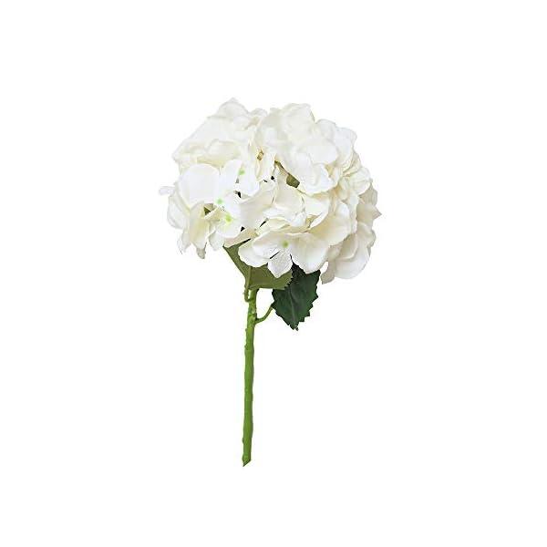 Sayla Flores Artificiales Flores Artificiales Flores de Seda Hortensias Ramos para Boda Hogar Fiesta Decoración