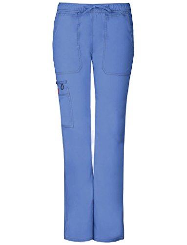 Gen Flex Frauen Low Rise Straight Leg Scrub Hose XXX-Gro? Petite Ceil Blue (Low-rise-scrub-hose Petite)