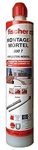 Fischer Montagemörtel 300 T, 1 Kartusche 300 ml, 1 x FIS Easy Mixer, 519557