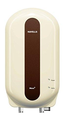 Havells Neo-plus 4500-watt Instant Water Heater (ivory Brown)