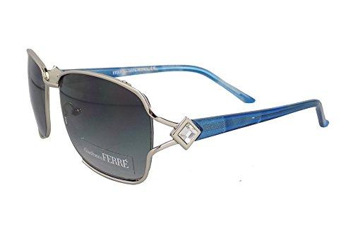 Gf Ferré Swimwear Sonnenbrille blau/silber