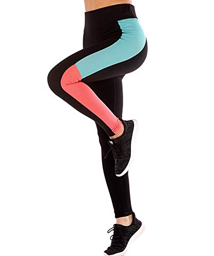 LaLaAreal Mallas Deportivo Mujer Leggins Yoga Pantalon