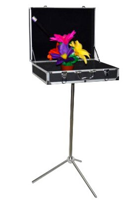 Doowops Black Magic Trunk Boutique Tables,Carrying Case (47.5*36*13cm) - Magic Trick,Stage Magic,Accessories,Gimmick,Prop
