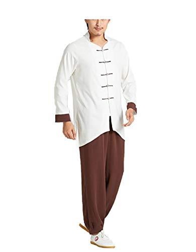 NY- Das Tai Chi-Kleidungsset erbt die Morgengymnastikkleidung für Männer im chinesischen Stil