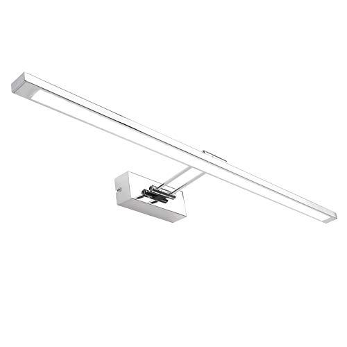 Klighten LED Spiegelleuchte 80cm, 16W Spiegelschrank Spiegellampe 180° Einstellbar Badlampe für Badzimmer und Spiegelschrank Kaltweiß 5500K