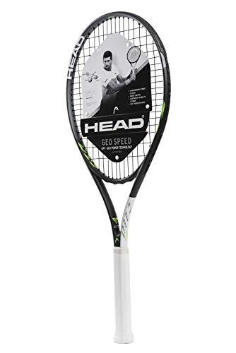 HEAD Erwachsene Tennisschläger Geo Speed - Vorbesaiteter Kopf Light Balance 27,5 Zoll - Dunlop Dämpfer Tennisschläger