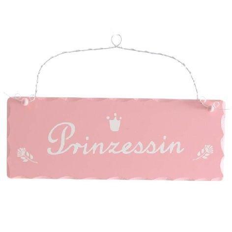 Tolles Holzschild ~ Prinzessin ~ Schild aus Holz Mädchen Kinderzimmer Deko rosa