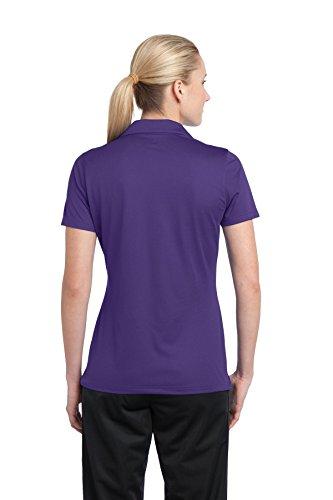 Sport-Tek - Polo - Avec boutons - Femme Violet - Violet