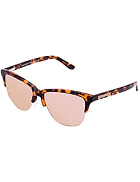 Hawkers CX18, Occhiali da Sole Unisex-Adulto, Marrone (Carey / Rose Gold), 60