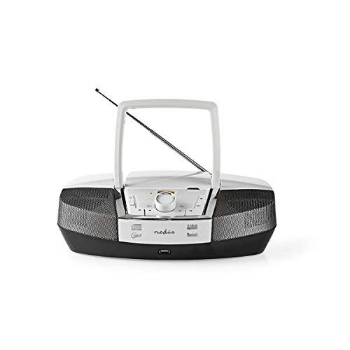 TronicXL Boombox 12 W Bluetooth CD-Player UKW-Radio USB AUX