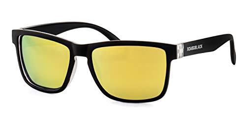 Back in Black Verspiegelte Sonnenbrille/Polarisierte Sonnenbrille für Herren F2505409