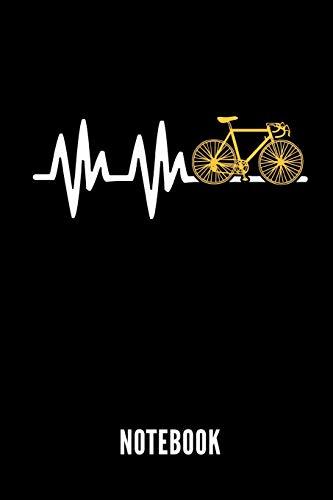 NOTEBOOK: Geschenkidee für Radfahrer und Rennradfans | Notizbuch mit 110 linierten Seiten | Format 6x9 DIN A5 | Soft cover matt | Klick auf den Autorennamen für mehr Designs zu diesem Thema - Radfahren Herz