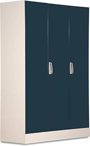 5f6089ae9 Buy Godrej Interio Slimline 3 WL Metal Almirah  (Finish Color - Pacific Blue)  on Amazon