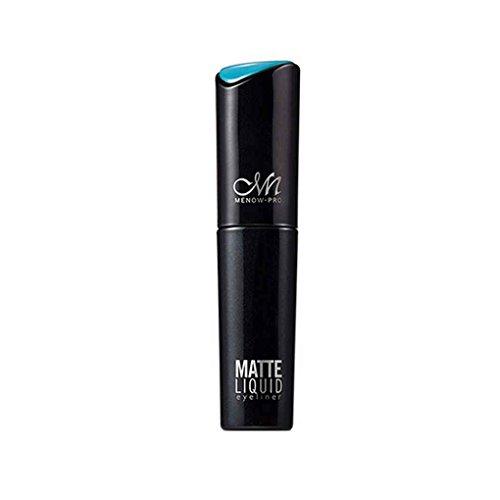 F-blue MENOE 6g Augen Make-up Schwarze Eyeliner Eyelinergel Auge Liquid Eyeliner wasserdicht flüssige Eyeliner-Bleistift-Kosmetik Langlebige Augen Make-up -