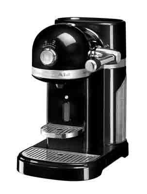 KitchenAid 5kes0503eob KitchenAid Nespresso caffè nero