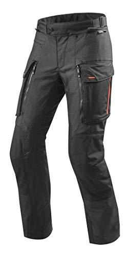REV'IT! Motorradhose Sand 3 Textilhose schwarz XL, Herren, Enduro/Reiseenduro, Ganzjährig