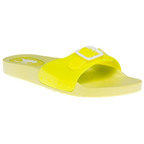Rocket Dog, Pantofole donna Giallo giallo, Giallo (Neon Yellow), 35